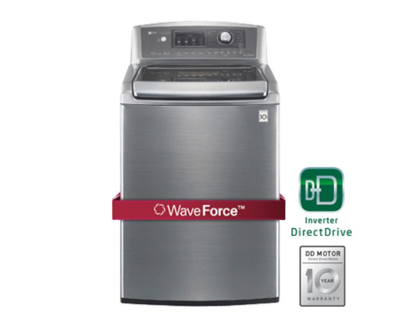 Buy 4.7 cu.ft. Ultra-Large Capacity High Efficiency Top Load Washer with WaveForce