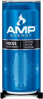 Buy AMP Energy Focus Drink