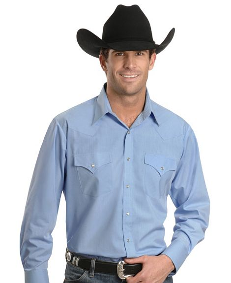 Buy Ely Solid Classic Western Shirt - Custom Fit, Neck & Sleeve Sizing
