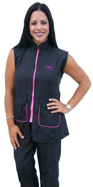 Buy Sleeveless Contrast Jacket