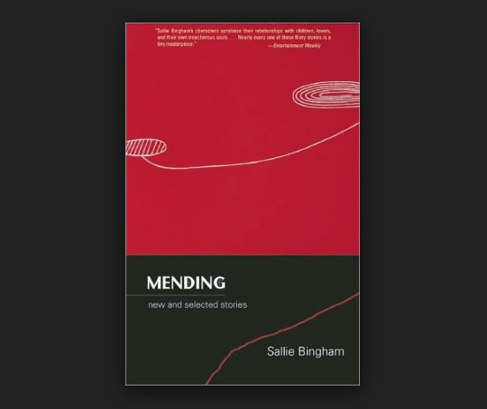 Buy Mending By Sallie Bingham