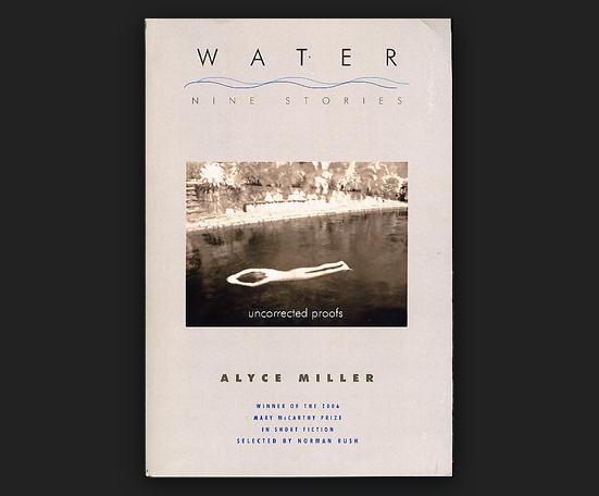 Buy Water: Nine Stories By Alyce Miller Book