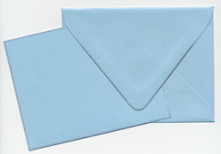 Buy Curious Blue Topaz/Silver Border A2 Card & Envelope 12/box