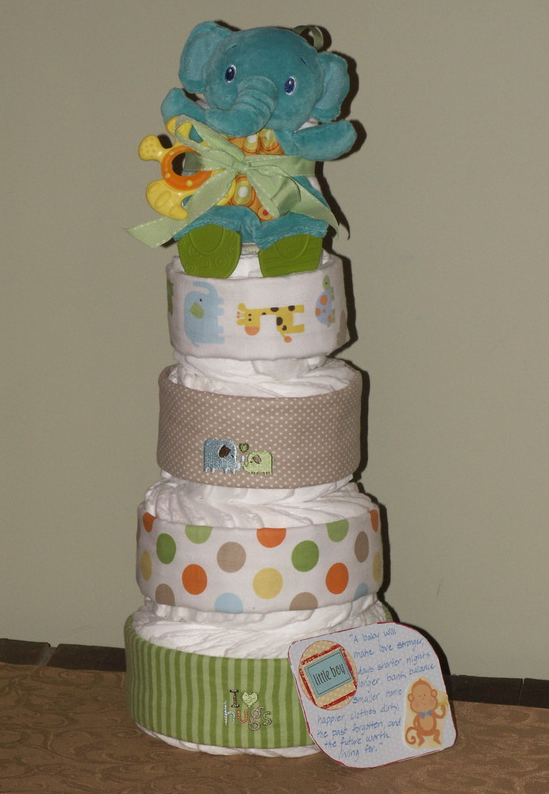 Buy Swaddled with Care Diaper Cake