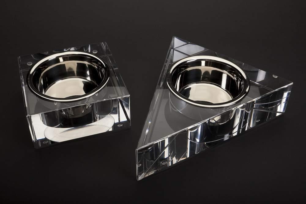 Buy Luxury Acrylic Pet Bowls