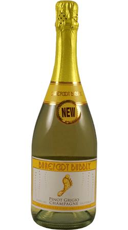 Buy Barefoot Bubbly Pinot Grigio Champagne, California (750ml)