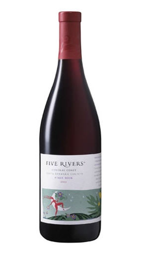 Buy Five Rivers 2010 Pinot Noir California