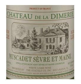 Buy Chateau De La Dimerie 2010 Muscadet Sevre et Maine, , France