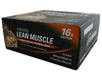 Buy Forward Foods: Lean Muscle Bar 45g Cookie Dough Caramel Crisp 9