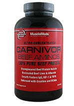 Buy MuscleMeds: Carnivor Beef Aminos 300ct