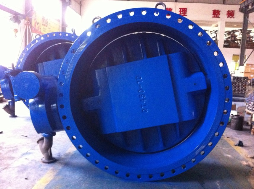 Buy Double eccentric ductile iron butterfly valve