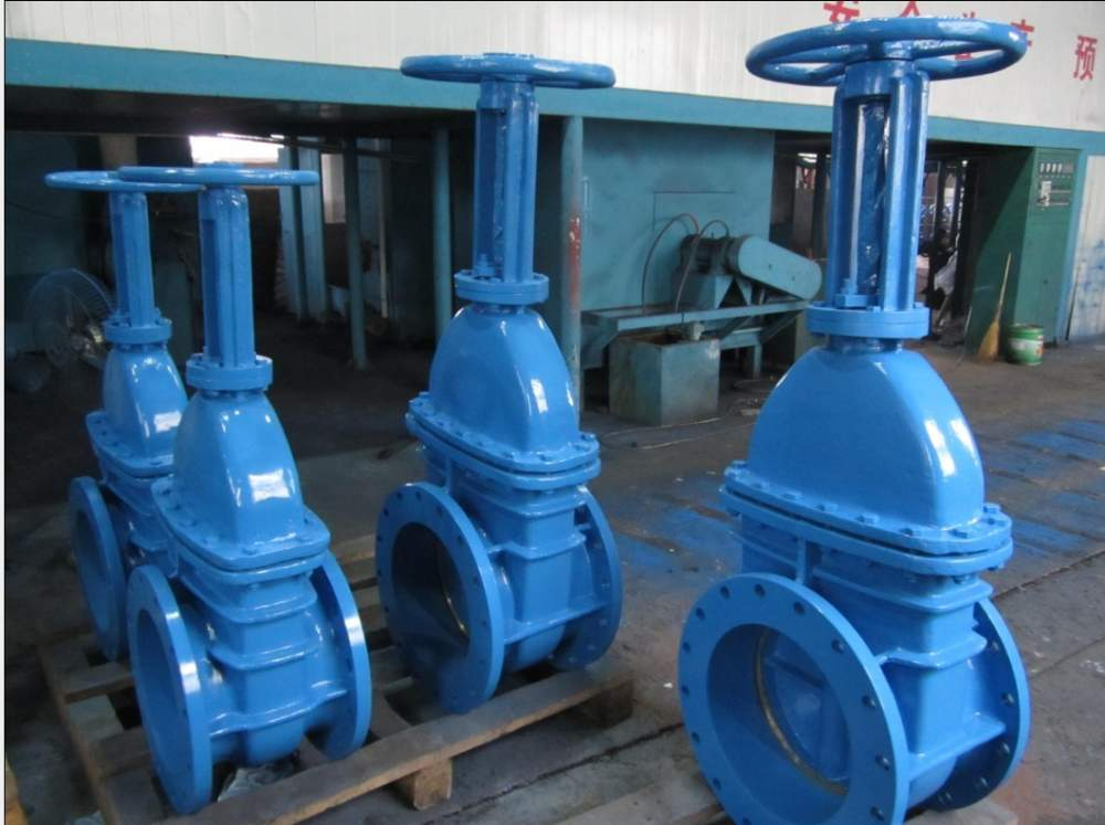 Buy Ductile iron rising stem cast iron gate valve