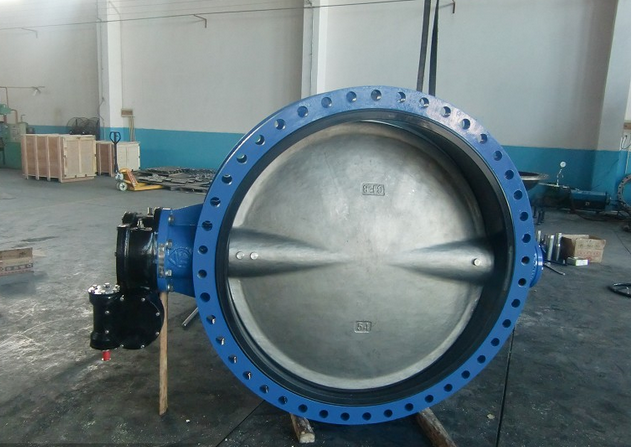 Buy Double flange butterfly valve