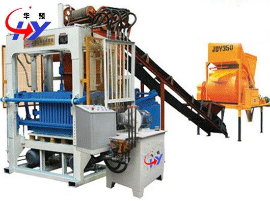 HY-QT4-25 manual brick making machine