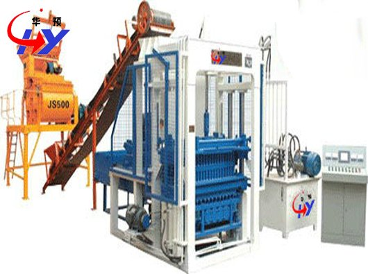 HY-QT5-20 interlock brick making machine price