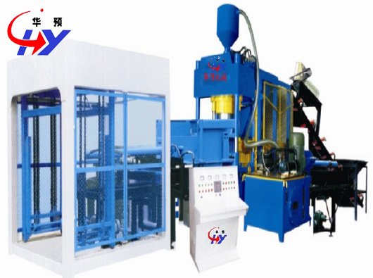 Buy HY-400K Interlock Paving Block Making Machine