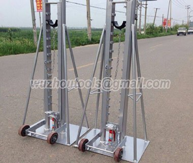 Buy Cable Jack Set,Cable Drum Screw Jack,cable pay-off stand