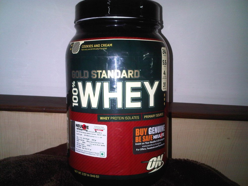 "Buy ""optimum nutrition whey protein"""