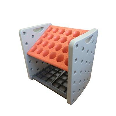 Buy Light Orange Roto Molded Umbrella Stand