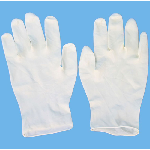 Buy Disposable latex examination gloves