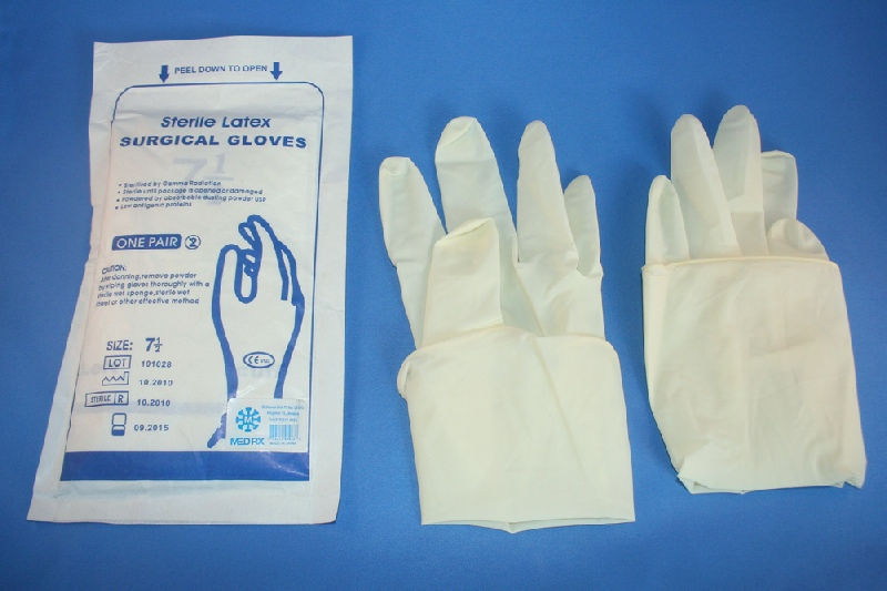 glove Surgical latex