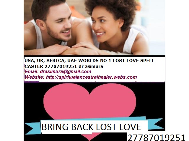 Buy , LOST LOVE SPELL VOODOO SPELL ADS AFRICA SAME DAY RESULTS CALL +27787019251