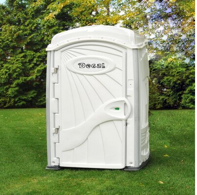 Buy White Deluxe Portable Restrooms