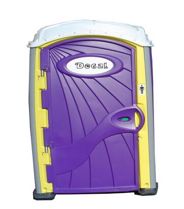 Buy Purple Yellow Portable Toilet