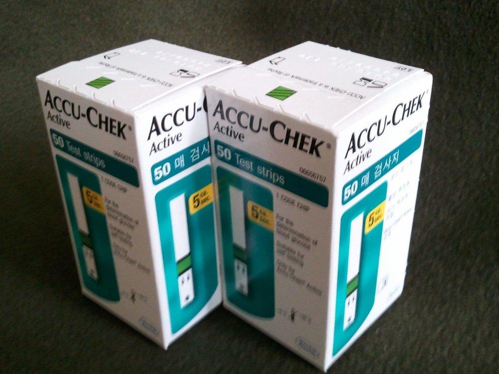 Buy Accu chek active test strip 50ct,100ct