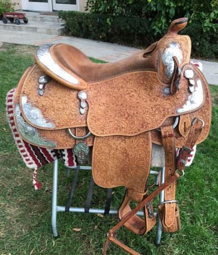 Buy Blue Ribbon Show Saddle