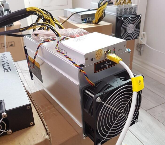 Buy NEW AntMiner D3 Dashcoin Miner 19GH/S with Original APW3+ PSU Mining Machine