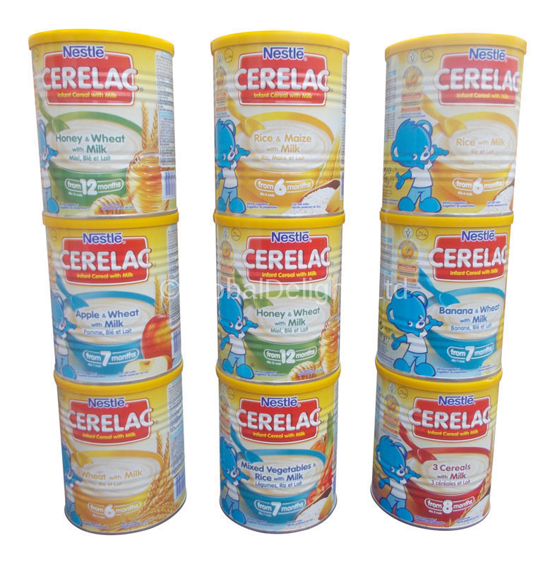 Buy Nestle Cerelac Infant Cereal With Milk