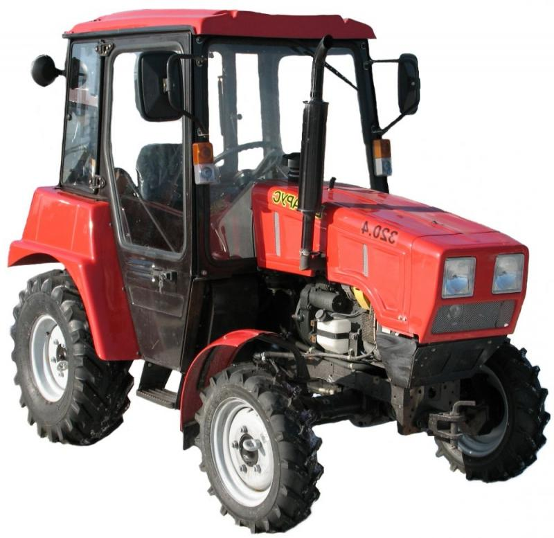 Buy Tractor Belarus 320, small-sized for performance of auxiliary works
