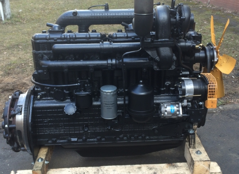 Buy Engine D-260.5C after overhaul for a truck MAZ 55142