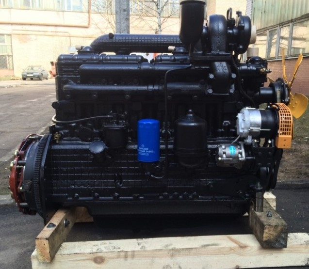 Buy The Engine D-260.12E2 for MAZ truck