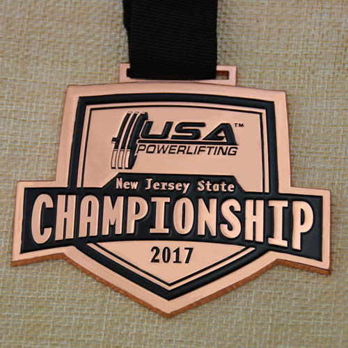 Buy Powerlifting Championship Custom Medals