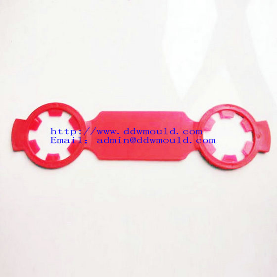 Buy DDW Promotionnal 2 hole plastic buckle plastic handle for PET water bottle