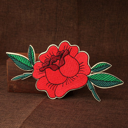 Buy Flower Custom Embroidered Patches