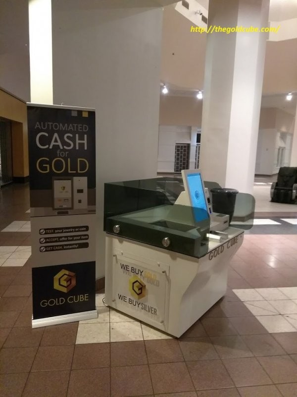 Buy Sales of GoldCube| The GoldCube ATM