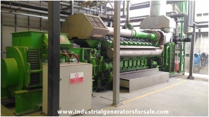 Buy 5 MW Jenbacher JMS 620 Cogeneration Plant