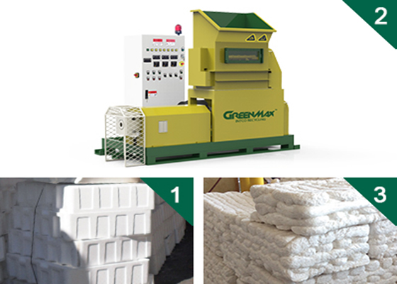 Buy GREENMAX MARS C100 EPS foam melting machine