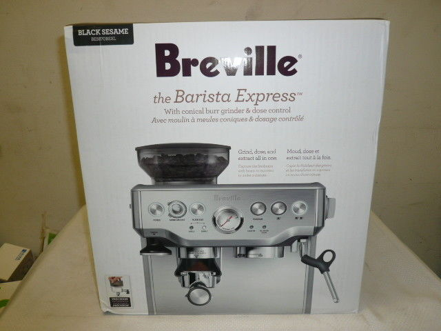 Buy Breville BES870XL Barista Express Espresso Machine