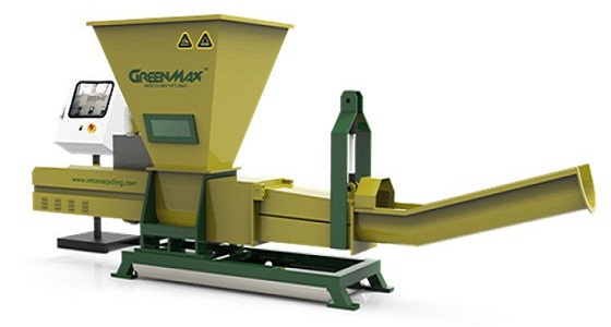 Buy New GREENMAX plastic recycling bottles recycling machine