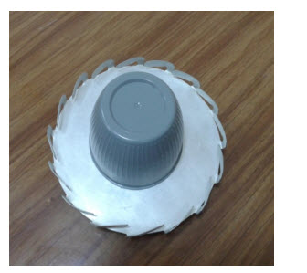 Broadband antenna for mobile communication vehicles PP099