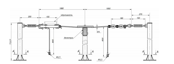 Hectometres range antenna PP100