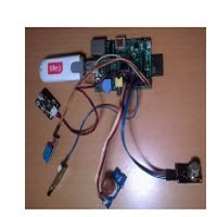 Wireless sensor networks with self-organization for monitoring the environmental parameters PP101