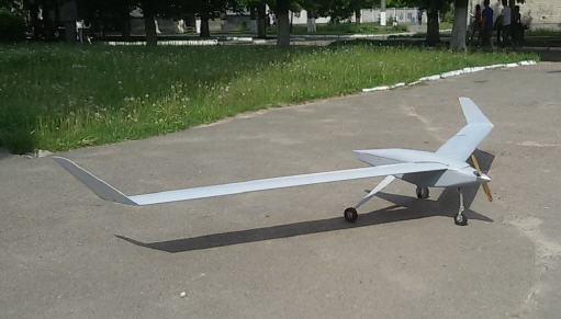 "Unmanned mobile complex M-57 ""Svitanok"""