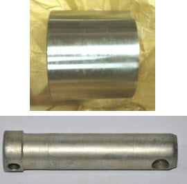 Coating strengthening of details surface from metal alloy PP135