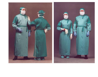 Protection clothing from especially dangerous infections PP250