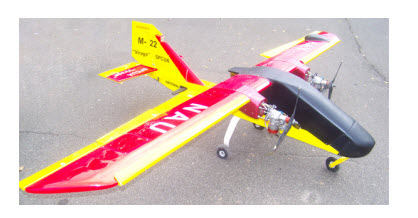 Training unmanned aerial vehicle М-22D AEROTESTER PP229